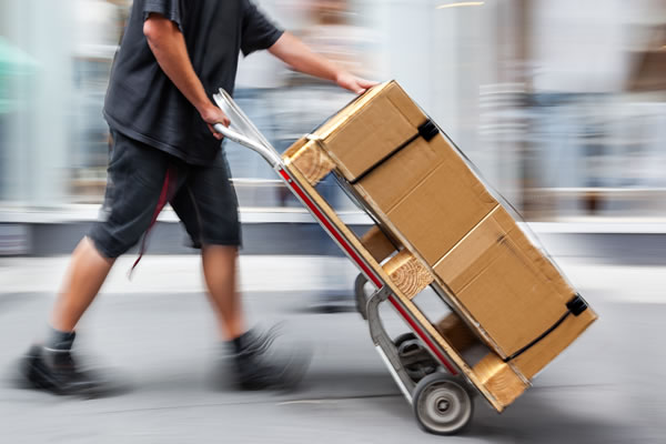 AtoZ hand truck delivery